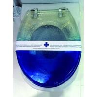 Precinto desinfección WC en 5 idiomas - ilvo.es