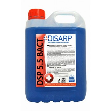 DSP 5.5 BACT - Lavavajillas Manual. Neutro Concentrado Antibacterias