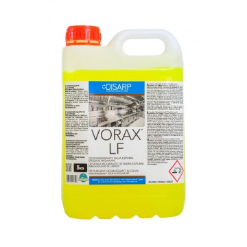 VORAX LF - Desengrasantes Espuma Controlada. Maquinas Limpieza