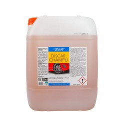 DISCAR CHAMPU. Detergente concentrado. Lavado automatico y manual de vehiculos