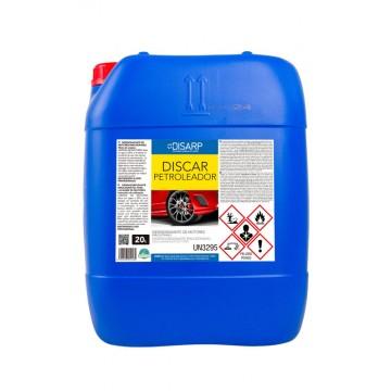 DISCAR PETROLEADOR - Desengrasante de Motores Emulsionable