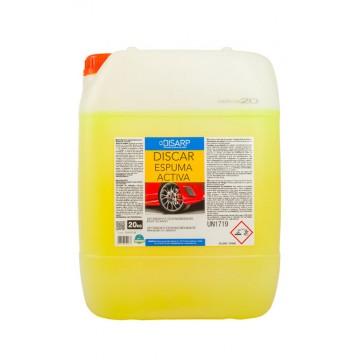 DISCAR ESPUMA ACTIVA- Detergente Altamente espumante. Lavado automático de vehículos