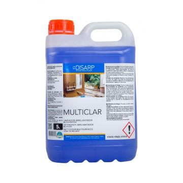 MULTICLAR- Limpiador multisuperficies. Sin rastros