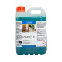 SANITER M- Detergente acido multiusos anti-cal y oxido con accion anti bacterias. Perfumado