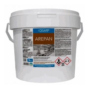 AREPAN- Detergente acido solido. Desengrasante recuperador
