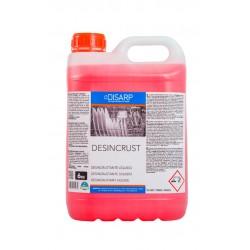 DESINCRUST - Desincrustante liquido maquina lavavajillas. Cal y restos