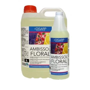 AMBISSOL FLORAL. Ambientador de acción prolongada, sinfonia de flores