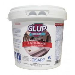 GLUP CAPSULAS LIMPIA-BAÑOS Monodosis Hidrosoluble
