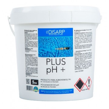 PLUS PH + - Corrector de ph. Piscinas