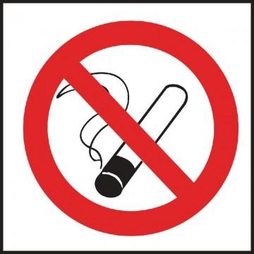 ROTULO PROHIBIDO FUMAR