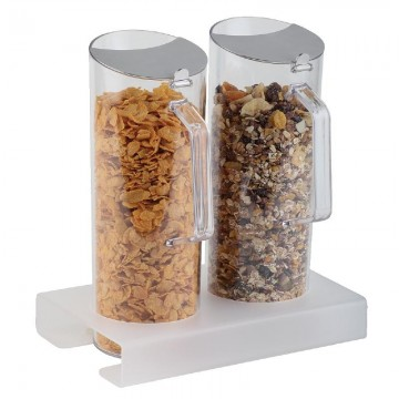 JARRAS DISPENSADORAS CEREALES CON BASE