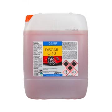 DISCAR C-10. Detergente desengrasante carrocerías, llantas y suelos.