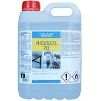 HIGISOL 70 Solución Higienizante Hidroalcoholica para Manos y Superficies - ilvo.es