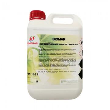 BIOMAR. Gel Higienizante Hidroalcoholico para Manos