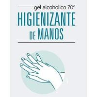 GEL ALCOHOLICO HIGIENIZANTE DE MANOS