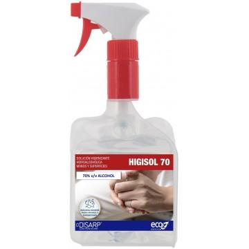 HIGISOL 70 Solución Higienizante Hidroalcoholica para Manos y Superficies