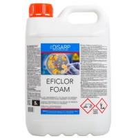EFICLOR FOAM - Bactericida Alcalino Clorado Detergente Espumante - ilvo.es