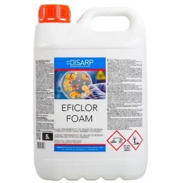 EFICLOR FOAM - Bactericida Alcalino Clorado Detergente Espumante