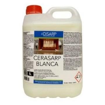CERASARP BLANCA- Cera metalizada alta resistencia. Suelos duros y sintéticos