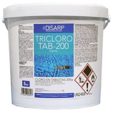 TRICLORO TAB-200 - Cloro en Tabletas - Piscinas