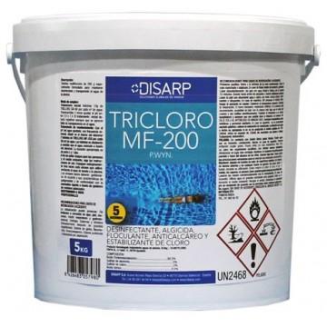 TRICLORO MF-200 - Tableta Multifunción Mantenimiento Piscinas