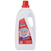SAAMIX - Detergente Lavadoras Básico Blanco - 3 Litros