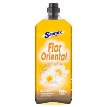 SAAMIX - Suavizante Concentrado Flor Oriental - 80 lavados