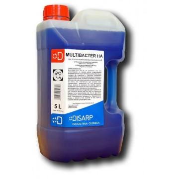 MULTIBACTER HA - Limpiador bactericida. APPCC certificado Higiene Alimentaria