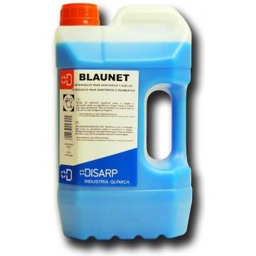BLAUNET. Detergente sanitarios y suelos. Secado rapido