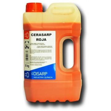 CERASARP ROJA- Cera roja alta resistencia. Suelos duros y porosos