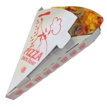 CAJA PORCION PIZZA TAKE AWAY