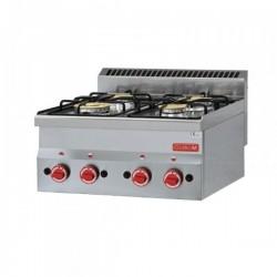 COCINA A GAS GASTRO-M 4 QUEMADORES 60/60 PCG