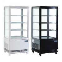 Refrigerador expositor puerta curva 86L Polar