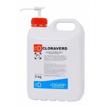 CLORAVERD. Lejía para el tratamiento de aguas de bebida y desinfección