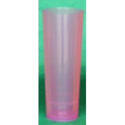 VASO TUBO COLOR PP - 300 ml