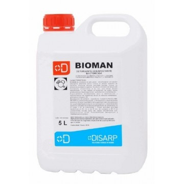 BIOMAN. Desinfectante bactericida HA. Purificador ambiente