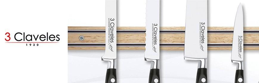 Cuchillos 3 Claveles Serie Uniblock