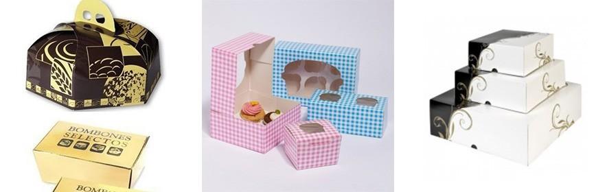 Cajas de Cartón Pastelería