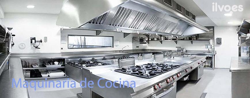 Maquinaria hosteler a mobiliario suministros y menaje ilvo - Mobiliario de cocina industrial ...