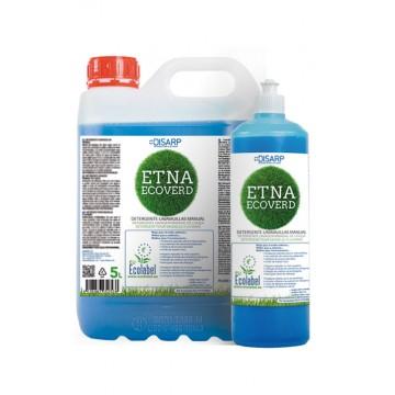 ETNA ECOVERD. Detergente lavavajillas manual respetuoso medio ambiente