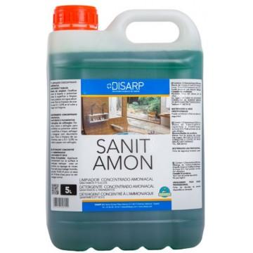 SANIT AMON - Limpiador concentrado amoniacal. Sanitarios y Suelos