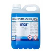 Abrillantador Vajillas Extra en máquinas lavavajillas y túneles de lavado.. Envase 5 Litros