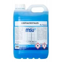 MSU® - Limpiacristales con bioalcohol - Envase 5 Litros - ilvo.es