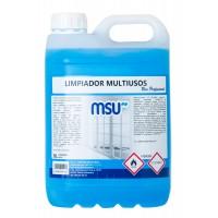 MSU® - Limpiador abrillantador multisuperficies - Envase 5 Litros - ilvo.es