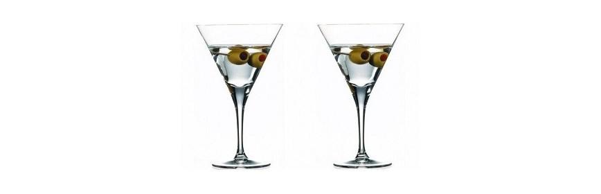 Copas Martini y Cóctel