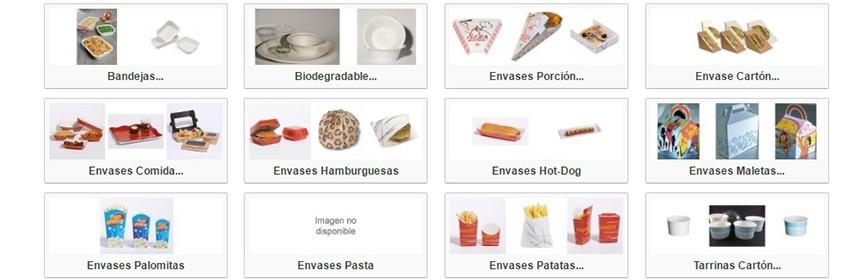 Cartón Hostelería - Fast Food