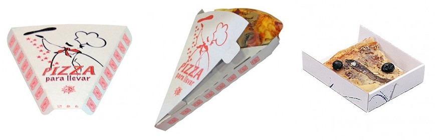 Envases Porción Pizza